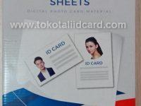 Jual PVC ID Card Jakarta Murah Instan 50 Sheet